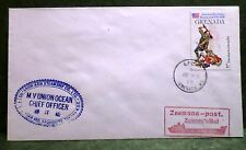 mv Union Ocean . Union Asia Steamship Co. Postal Cover . Paquebot Ship Boat V254