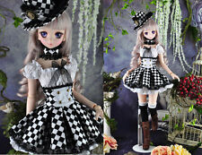 1/3 bjd dollfie dream doll DDL/DDMDDS outfits dress set with hat #SD-127DL