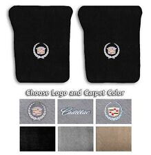 1980-2000 Cadillac Cars Custom Carpet Floor Mats-Choose Color & Official Logo