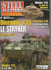 STEEL MASTERS  N°89 DIORAMA : LE STRYKER / LE 40mm BOFORS / KUBELWAGEN FUNK