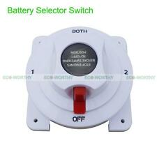 Battery Selector Switch Replaces Guest 2111A 4 Position for Marine Industrial