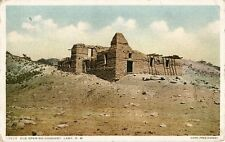 Postcard New Mexico Old Spanish Mission Lamy Sante Fe County 1915-20s Unused