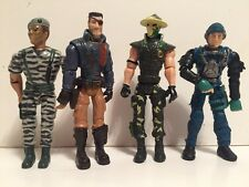 """Articulated Adventure Military Villains Soldier Action Figures 4"""" Lanard Corps"""