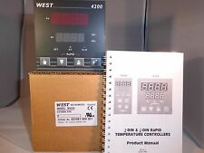 West 4200 1/4 DIN PID Temperature Controller N4200 Z2100 00 R9 REMOTE SETPOINT