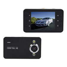 K6000 Full HD Wide-angle Lens Night Vision Car DVR Camera Video Recorder Black