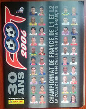 RARE ALBUM PANINI COMPLET FOOT 2006 LIGUE 1 FOOTBALL VIGNETTES VINTAGE 2005-06