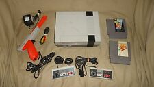 Nintendo NES Classic Console System w/ Karate Kib & more tested working