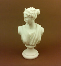 Artemis Diana Alabaster sculpture statue bust Ancient Greek Goddess of hunt