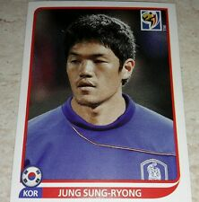 FIGURINA CALCIATORI PANINI SOUTH AFRICA 2010 KOREA SUNG-RYONG ALBUM MONDIALI