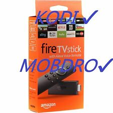 Jailbroken Fire TV Stick w/ Alexa Voice Remote - 2nd Gen Quad Core - Kodi17.1