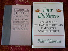 Four Dubliners.Richard Ellmann. Flaubert, Joyce and Beckett.Hugh Kenner 2 books