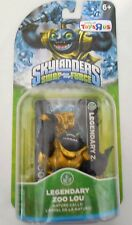 SKYLANDERS SWAP FORCE TRAP TEAM SUPERCHARGERS LEGENDARY ZOO LOU VARIANT GOLD