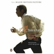 12 YEARS A SLAVE : A Memoir by Solomon Northup Paperback 2013