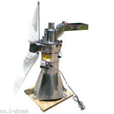 Automatic continuous Hammer Mill Herb Grinder,pulverizer machine,25KG per hour
