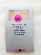 Maybelline New York Pure Stay Powder Foundation, Buff 20, 0.34 oz