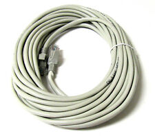 100FT RJ45 CAT5 CAT5E ETHERNET LAN NETWORK D Grey CABLE