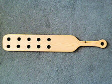 "US Style 23"" x 4"" Punishment Paddle with holes (cane)"