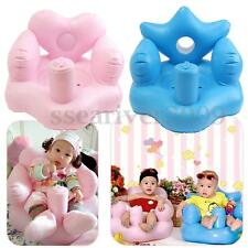 Portable Baby Sofa Kids Inflatable Learn Training Bath Dining Chair Safety Seat