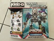 Transformers Kre-O Bruticus combiner  New in box