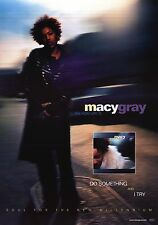 MUSIC POSTER~Macy Gray On How Life Is 1999 Original Album Print I Try NOS New~