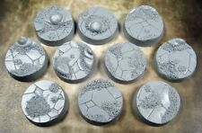 Ancient Sands BAS2501 Beveled Bases 25mm Secret Weapon Miniatures Gaming
