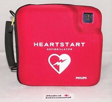 PHILIPS FR2+ heartstart defibrilateur, nouveau 2017 pads + 2019 genuine battery + case