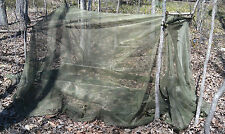 Large Excellent US Military Mosquito Insect Bar Cover Canopy Field Net Camping