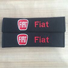 X2 Seat Belt Cover Pads for Fiat 500 - UK