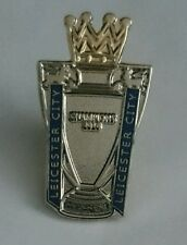 Leicester city premier league winners pin badge 2016