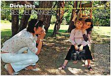 Coupure de presse Clipping 2004 (4 pages) Inès de la Fressange