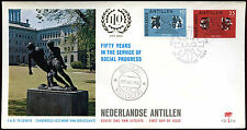 Netherlands Antilles 1969 Labour Org. FDC First Day Cover #C26615