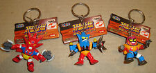 SUPER ROBOT WARS COLLECTION MASCOT KEYCHAIN: GETTER ROBOT DRAGON/LIGER/POSEIDON
