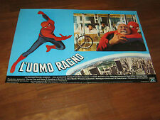 FOTOBUSTA ,1978,L'UOMO RAGNO, Amazing Spider-Man Swackhamer,Hammond,Marvel,Lee