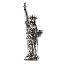 5 oz Silver Antique Statue - American Treasures (Lady Liberty) - SKU #104179