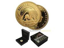10 $ Dollar Great Spotted Kiwi Neuseeland  2017 1/4 oz Unze Gold PP Proof