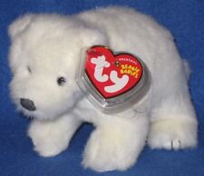 TY ICEPACK the POLAR BEAR BEANIE BABY - MINT with MINT TAG (INTERNET EXCLUSIVE)