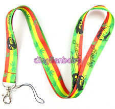10 Pcs Bob marley Pop music mobile Phone lanyard Keychain straps charms Gifts