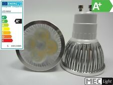 GU10 LED Spot/Strahler 60° - 4x 1W High-Power-Leds - 300Lm – kalt-weiß