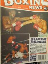 4 Issues UK Boxing News Magazine March 4, 11, 18, & 25, 1994-Benn/Bruno/De L