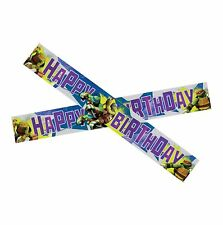 15ft Teenage Mutant Ninja Turtles Party Happy Birthday Foil Banner Decoration