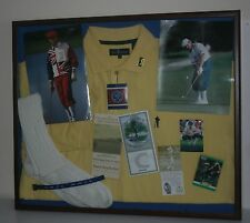 Payne Stewart 1999 US Open 1998 US Open WWJD Autograph Framed Tribute His Socks