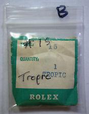 Genuine Rolex 15 Tropic Plastic Plexi Acrylic Watch Crystal 25-15 - B