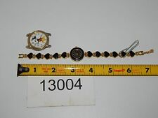Vintage Watch LOT OF 2 Watches LADIES DISNEY MICKEY MOUSE RUNS GOOD 13004