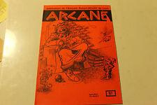 Magasine magie ARCANE 57 publication de l amicale robert HOUDIN de LYON