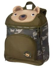 GYMBOREE BEAR N CAMOUFLAGE PRINTED BACKPACK NWT