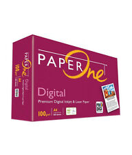 PAPER ONE DIGITAL PRINTING A4 PAPER 100 GSM 1000 SHEETS