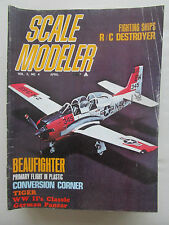 SCALE MODELER 4/1970 BEAUFIGHTER USS EDWARDS JUNKERS JU-52 KAWASAKI KI-48 T-28
