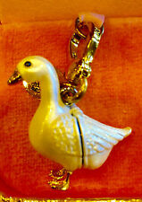 2010 JUICY COUTURE LIMITED ED GOOSE WITH A GOLDEN EGG CHARM YJRU3743