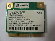 Gateway MS2285 NV5356U NV53 Series Wireless Half Card Atheros AR5B93 (K8-33)