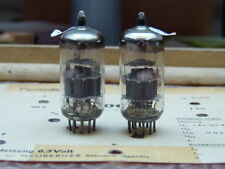 Matched Pair ECC88 Amperex  # near NOS # same production codes (3306)